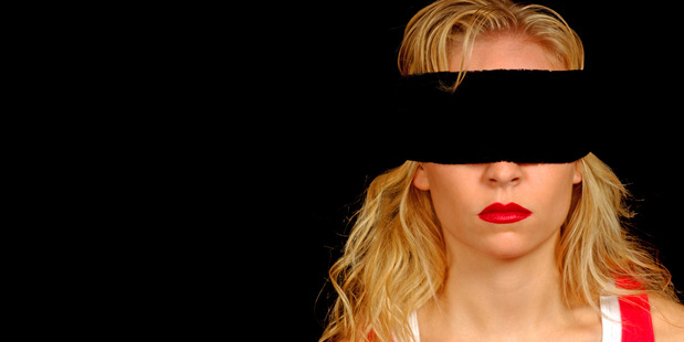 As arranged, he wore a balaclava and she wore a blindfold. Photo / Thinkstock