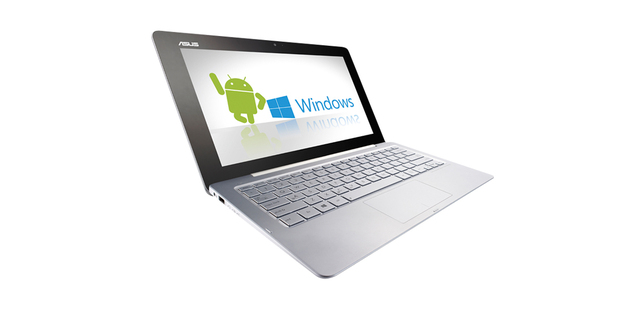 The Trio is a neat way to fence-sit if you're undecided on plunking down cash for a Windows 8 notebook or going for an Android tablet, as you can have the best of both.