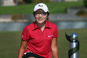 Lydia Ko has been named New Zealand's top sportsperson. Photo / Getty Images