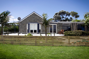 Just mad about life on Waiheke Island Sir Peter Leitch's property at Oneroa used to be a restaurant. Photo / Natalie Slade