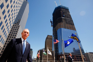 Michael Bloomberg has spent hundreds of millions on charitable and personal projects in New York City. Photo / AP