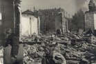 The battle of Stalingrad left the city largely in ruins.