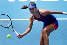 Ana Ivanovic will play doubles partner Kirsten Flipkens in the semifinals of the ASB Classic. Photo / Brett Phibbs