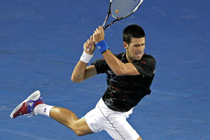 Novak Djokovic of Serbia. Photo / Getty Images