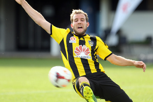 A couple of Jeremy Brockie's shots for the Phoenix are 'miss of the season' contenders. Photo / APN