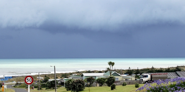 The quiet beachside settlement was the scene of two stabbings late on New Year's Eve. Photo/Stuart Munro