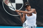Venus Williams would love to return next year. Photo / Richard Robinson