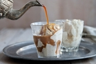Affogato brings icy cold relief on a hot summer's day.