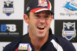 Brad Fittler last played for the Roosters in the 2004 grand final. Photo / Getty Images