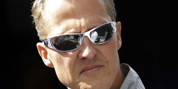 Michael Schumacher. Photo / AP