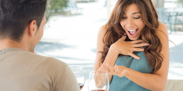 'I don't want to pressure him, but I do want him to pop the question.' Photo / Thinkstock