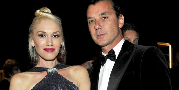 Gwen Stefani and Gavin Rossdale pictured in October 2013 at the Wallis Annenberg Center for the Performing Arts Inaugural Gala. Photo / Getty Images