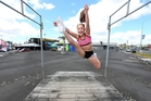 Grace Hegh, 11, is among 20 young cheerleaders to win a top US award. Photo/File