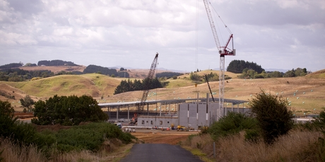 Chinese dairy giant Yashili is building its own infant formula plant at Pokeno. Photo / Dean Purcell