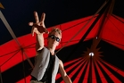 Circus Aotearoa performer Lucky McDermott will be entertaining crowds at William Fraser Memorial Park, Whangarei. Photo / John Stone