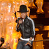 Pharrell Williams performs onstage during the Oscars. Photo / Getty Images