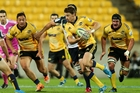 Beauden Barrett's running was one of the few highlights for the Canes. Photo / Getty Images