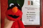 Melissa had just bought her son an Elmo toy and as she passed Takapuna Bar she realised they had broken all the rules.