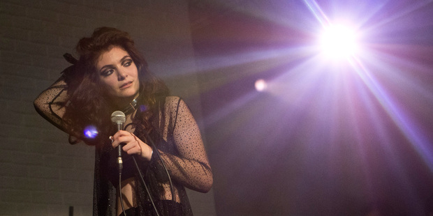 Lorde has won positive reviews at the start of her first American tour. Photo/AP.