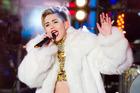Miley Cyrus has slammed Katy Perry's reaction to their public kiss. Photo/AP.