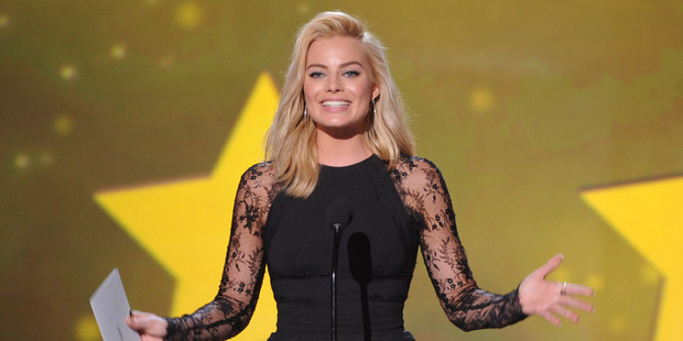 Margot Robbie has found love on her New Zealand film set. Photo/AP.