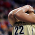 Vanderbilt forward Marqu'es Webb reacts after touching a ball headed out of bounds during a second-round women's Southeastern Conference tournament NCAA college basketball game. Photo / AP