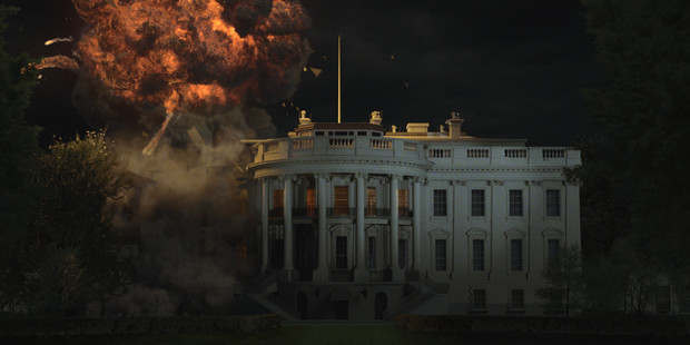 Film Olympus Has Fallen has been fined $2 million for using real emergency drill sounds.