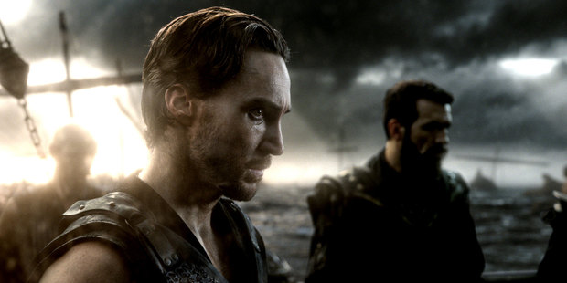 Callan Mulvey stars as Scyllias in 300: Rise of an Empire. Photo/Warner Bros. Pictures.
