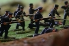 Amateur historian Rob Hicks has spent many hours in his Bay of Plenty garage creating a dramatic diorama of the Battle of Gate Pa which was fought in Tauranga in April 1864. This year will mark the 150th anniversary of the historic battle fought between local Maori and the Crown.