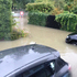 Flooding at Waimea Terrace, Beckenham. Photo / Jason Burns