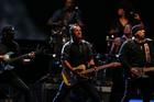 Bruce Springsteen plays the Mount Smart Stadium. Photo / Herald on Sunday / Chris Loufte