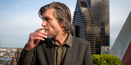 My world isn't minimalist; my world isn't perfect, so why on earth should my writing be?' - Karl Ove Knausgaard. Photo / Corbis