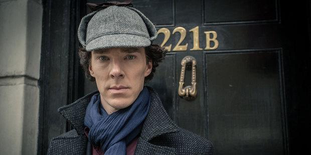 Benedict Cumberbatch returns as Sherlock Holmes.