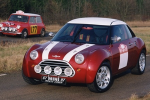 Mini 30th anniversary concept vehicle