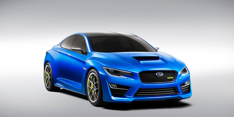 Subaru WRX concept bears little resemblence to production car