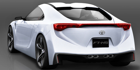 Toyota's FT-HS concept inspired the 86 sports car