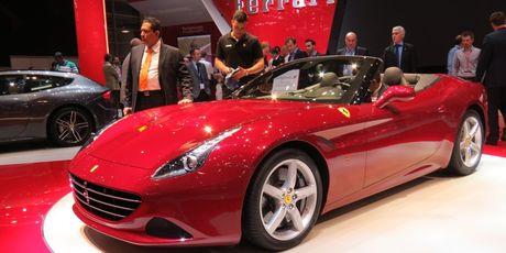 Ferrari California T at Geneva Motor Show 2014