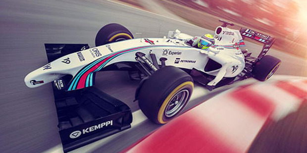 Martini have confirmed a multi year sponsorship deal with Williams F1. Photo / Supplied