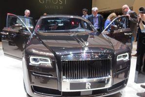 Rolls Royce Spirit glistens at Geneva