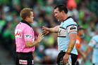 The NRL has called a media conference where it's expected to announce findings on appeals by the Cronulla club. Photo / Getty Images.