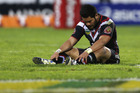 Konrad Hurrell of the Warriors. Photo / Getty Images.