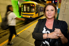 Carmel Williams looks forward to electric trains. Photo / Richard Robinson