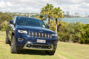 Benji Marshall's Jeep Grand Cherokee Overland Diesel. Photo / Michelle Hyslop