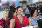 Racegoers enjoys the festivities during Auckland Cup Week, Alexandra Park, Auckland. Photo / Fiona Goodall