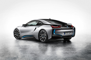 BMW is already using carbon fibre on its i8 hybrid sports car