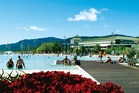 The pool on the Esplanade at Cairns is a great place for a family picnic.