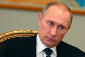 Russian President Vladimir Putin has shown he is not prepared to abide by the rules surrounding global security. Photo / AP