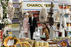 Models wear creations for Chanel's ready to wear fall/winter 2014-2015 fashion collection presented in Paris. Photo / AP