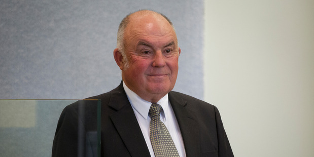 "Hugh Hamilton is accused of assisting with ""unlawful advances"" and helping conceal the identity of Belgrave Finance's true owner. Photo / Sarah Ivey"
