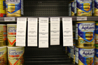 Nutricia had to recall 67,000 cans of Karicare baby milk brand in NZ after the botulism scare. Photo / APN